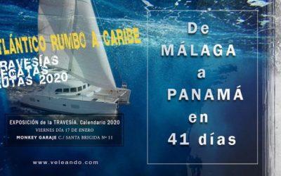 Yo volando, tú navegando: Travesía de Málaga a Panamá